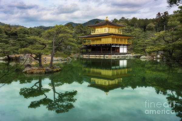 Photograph - Kyoto Gold by Peng Shi