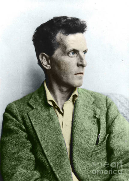 Wall Art - Photograph - L Wittgenstein by English School