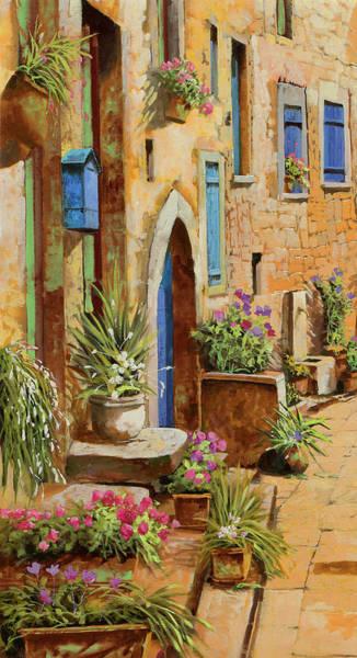Late Painting - La Buca Delle Lettere by Guido Borelli
