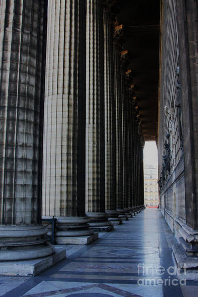 Photograph - La Colonnade De La Madeleine by Rick Locke