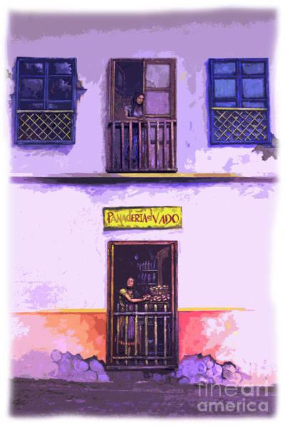 Wall Art - Photograph - La Condamine Wall Mural by Al Bourassa
