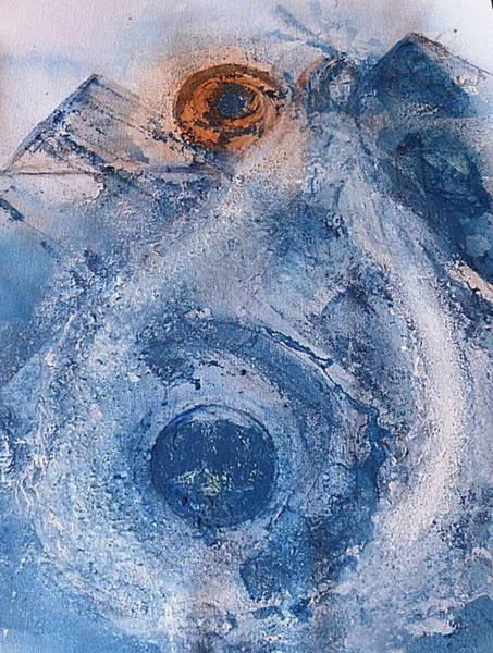 Painting -  La Donna Del Lago by 'REA' Gallery