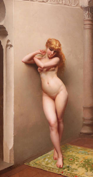 Wall Art - Painting - La Favorita by Luis Ricardo Falero
