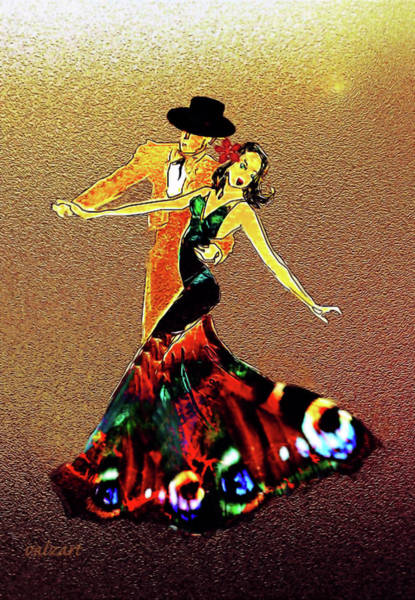 Painting - La Fiesta by Valerie Anne Kelly