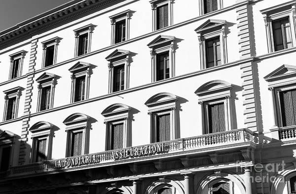 Photograph - La Fondiaria Assicurazioni Florence by John Rizzuto