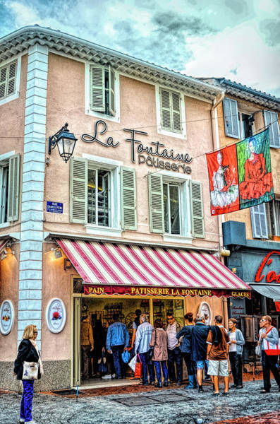 Wall Art - Photograph - La Fontaine Patisserie by Paul Coco