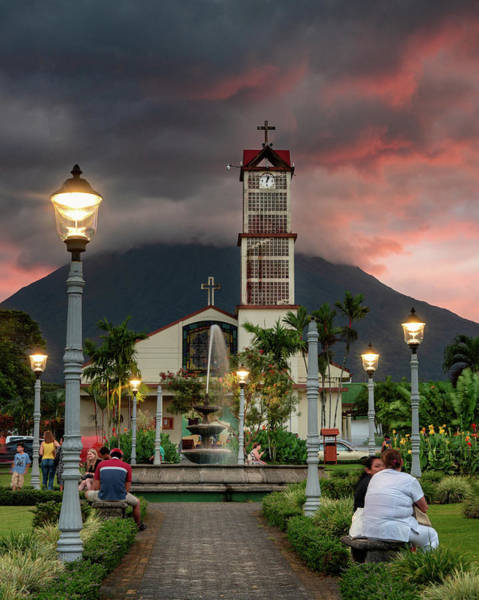 Photograph - La Fortuna Park by Darylann Leonard Photography