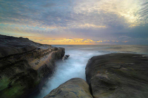 Wall Art - Photograph - La Jolla California Sunset by Larry Marshall