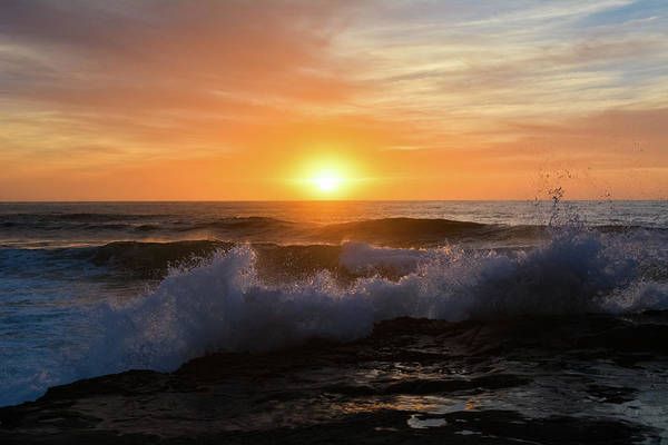 Photograph - La Jolla Sunset by Kyle Hanson