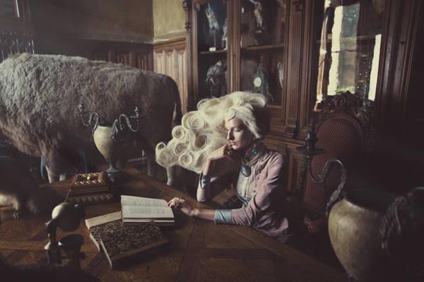 Photograph - La Lectrice by Marco Mazzini and Lynn Schockmel