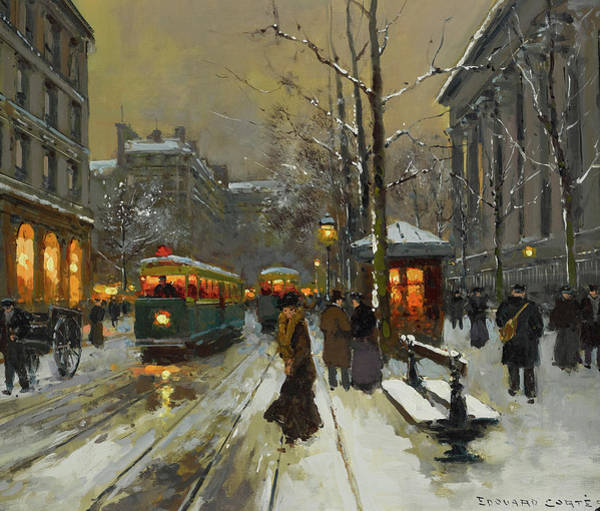 Wall Art - Painting - La Madeleine by Edouard Leon Cortes