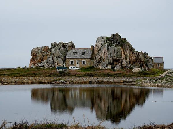 Photograph - La Maison Du Gouffre 4 by Andrew Fare