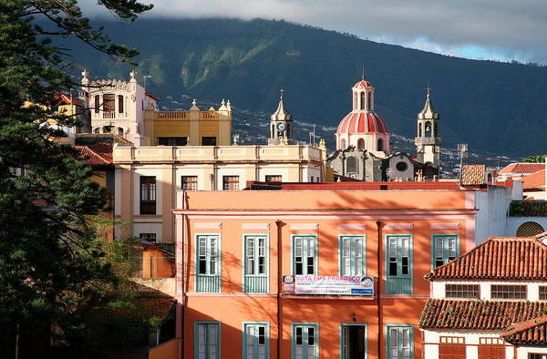 Residential Area Photograph - La Orotava And The Iglesia De La by Feargus Cooney