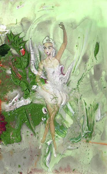 Painting - La Petite Ballerine by Miki De Goodaboom