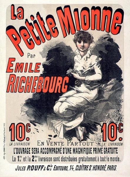 Painting - La Petite Mionne Vintage French Advertising by Vintage French Advertising