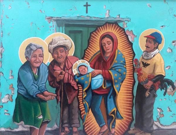 Wall Art - Painting - La Presentacion De Cristo En El Templo by Kelly Latimore