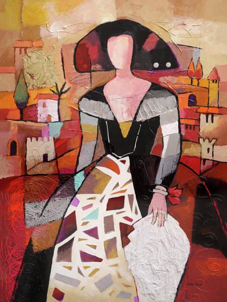 Painting - La Reina De Torrevieja by Lutz Baar