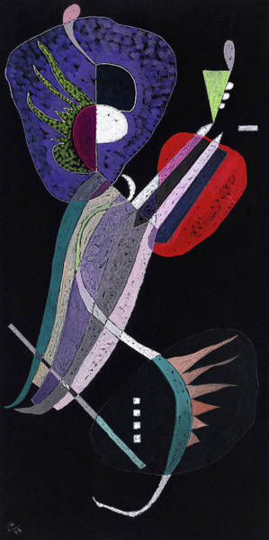 Wall Art - Painting - La Resolution, 1938 by Wassily Kandinsky