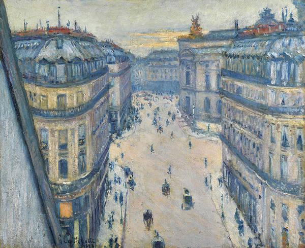 Wall Art - Painting - La Rue Halevy, Vue Du Sixieme Etage by Gustave Caillebotte