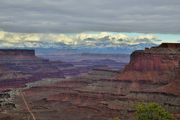 Photograph - La Sal Mountains And Canyonlands by Ray Mathis