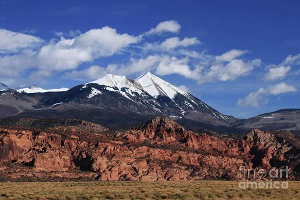 Photograph - La Sal Mountains by Marcia Lee Jones