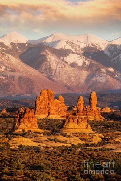Photograph - La Sal Mountains by Scott Kemper