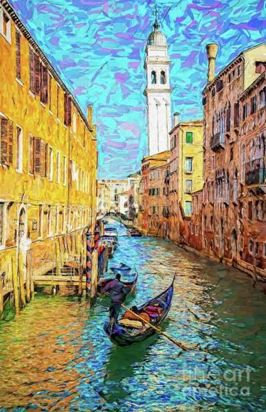 Wall Art - Photograph - La Serenissima Gondola by Jack Torcello