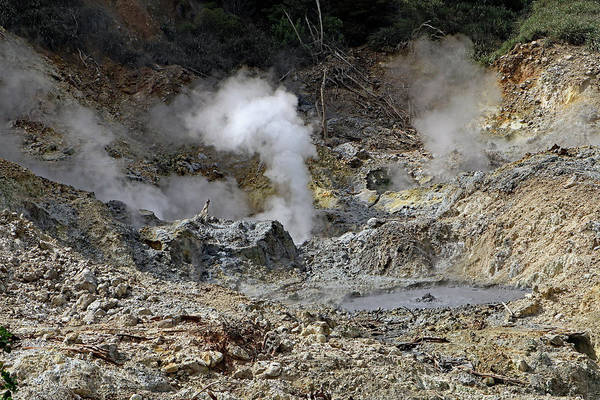 Photograph - La Soufriere Volcano by Tony Murtagh