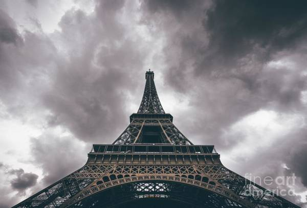 Digital Art - La Tour Eiffel by Michael Graham