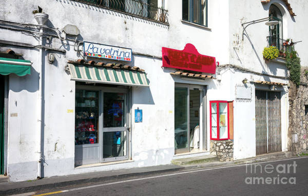Wall Art - Photograph - La Vetrina Positano by John Rizzuto