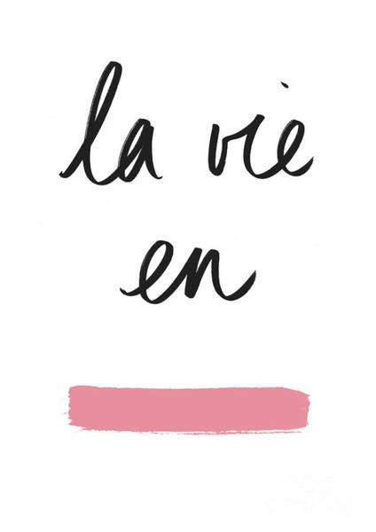 Wall Art - Digital Art -  La Vie En Rose by Florent Bodart