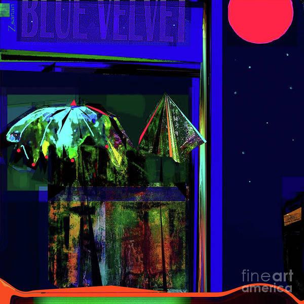 Wall Art - Mixed Media - La Vie Nocturne No.3 by Zsanan Studio