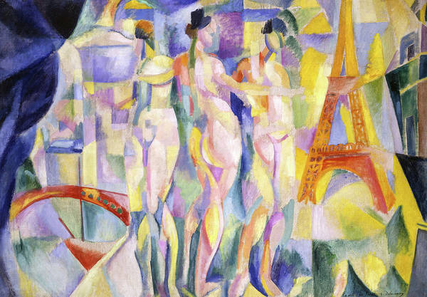 Wall Art - Painting - La Ville De Paris, 1911 by Robert Delaunay