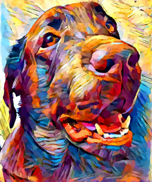 Wall Art - Painting - Labrador Retriever 5 by Chris Butler