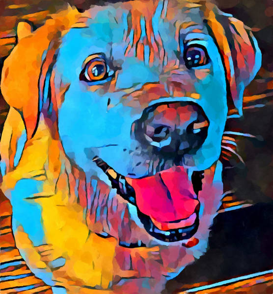 Wall Art - Painting - Labrador Retriever 7 by Chris Butler