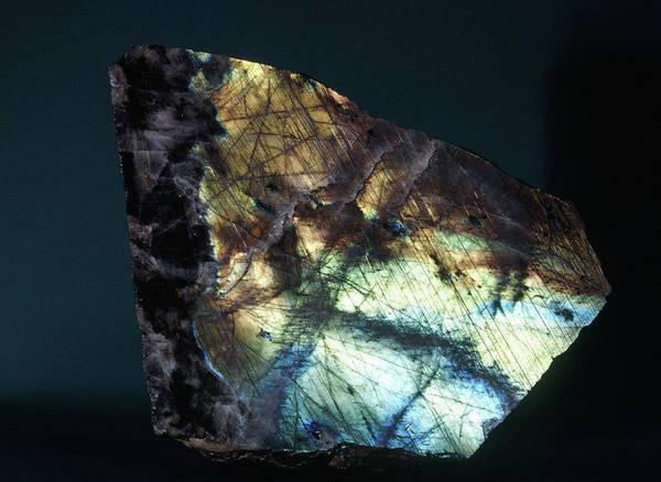 Photograph - Labradorite by Joel E. Arem