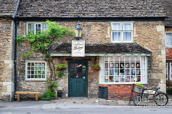 Photograph - Lacock Bakery by Tim Gainey