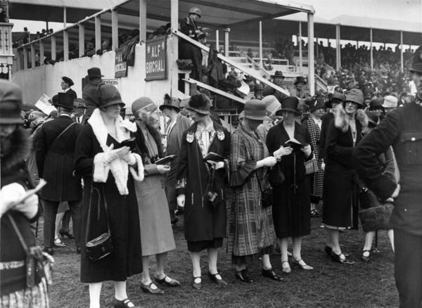 Epsom Derby Photograph - Ladies Day by E. Bacon