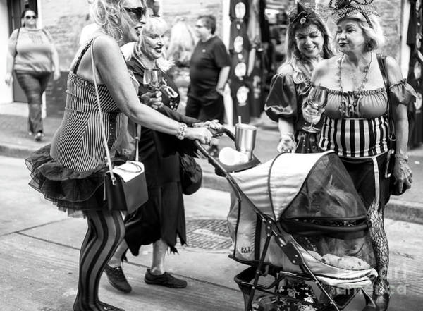 Photograph - Ladies Of Bourbon Street New Orleans by John Rizzuto
