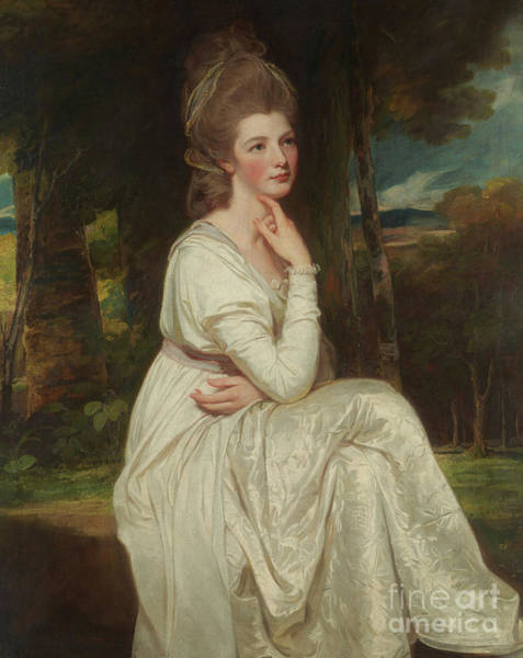 Romney Painting - Lady Elizabeth Stanley, Countess Of Derby by George Romney