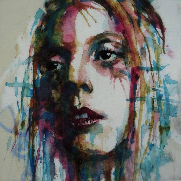 Wall Art - Painting - Lady Gaga by Paul Lovering