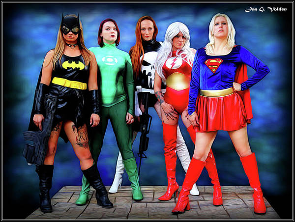 Photograph - Heroes For Hire by Jon Volden
