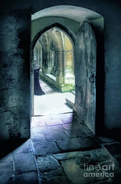 Wall Art - Photograph - Lady In The Abbey by Jill Battaglia