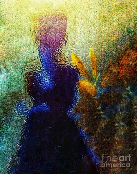 Wall Art - Photograph - Lady In The Garden by Lisa Simmons