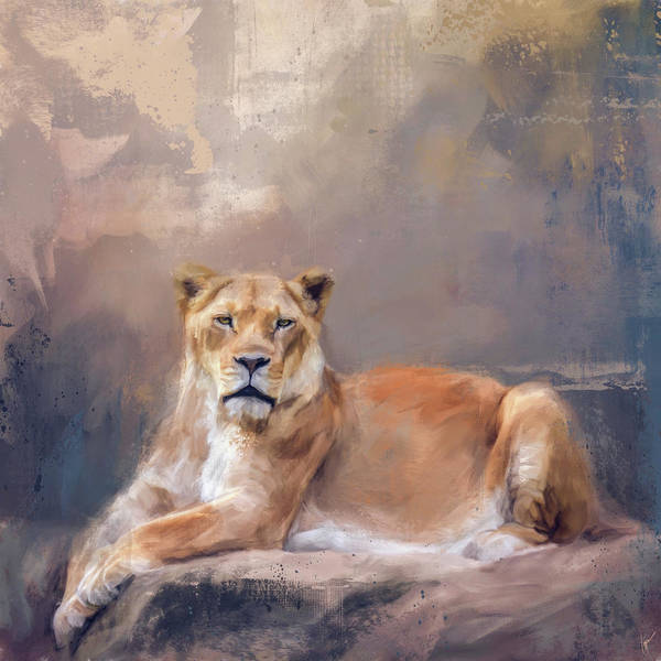 Painting - Lady Leo by Jai Johnson
