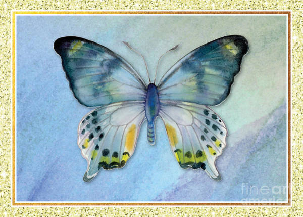 Painting - Laglaizei Butterfly by Amy Kirkpatrick