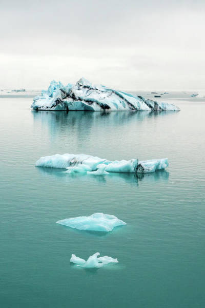 Photograph - Lagoon Icebergs - Iceland by Marla Craven