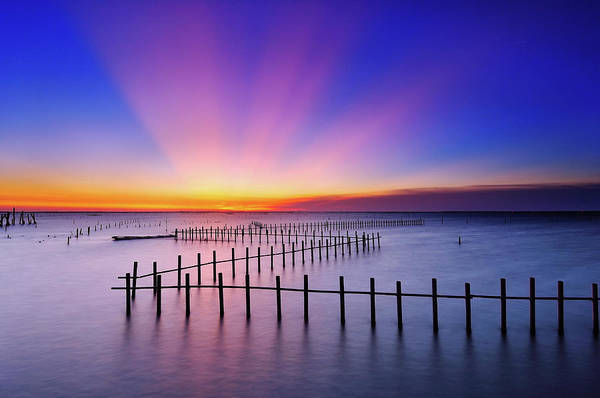 Wall Art - Photograph - Lagoon Of Chi-gu At Sunset by Thank You For Your Appreciation