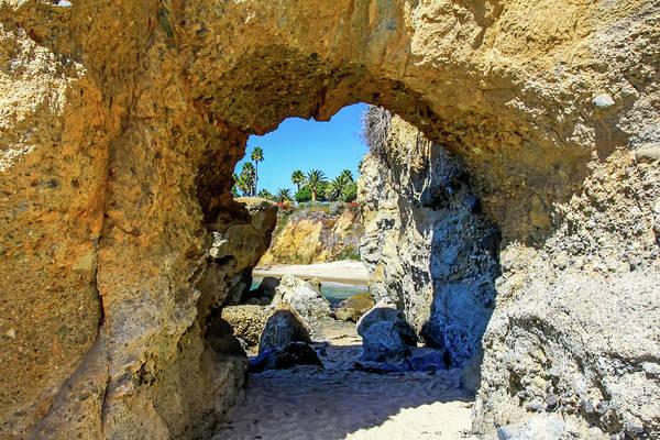 Photograph - Laguna Beach Arch by Dawn Richards