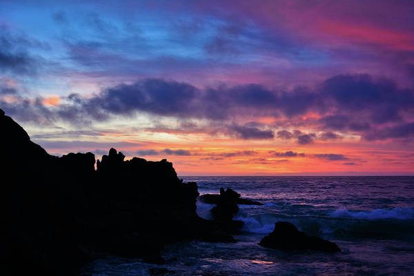 Photograph - Laguna Beach Colorful Sunset by Kyle Hanson
